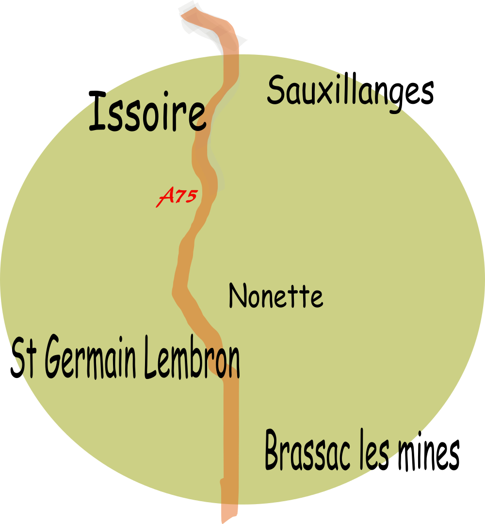 Cours particuliers informatique domicile Saint Germain Lembron