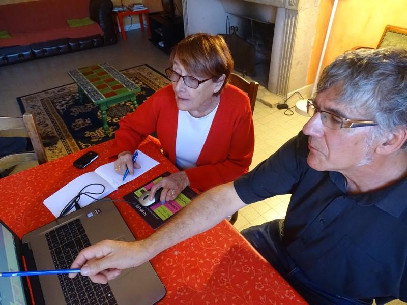 Formations Internet pour les seniors du pays d'issoire sur PC ou tablette